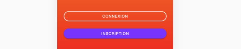 Comment créer des boutons de connexion et d'inscription ?