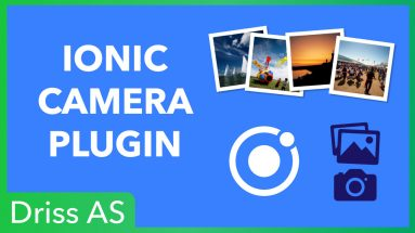 Comment prendre une photo avec Ionic ?