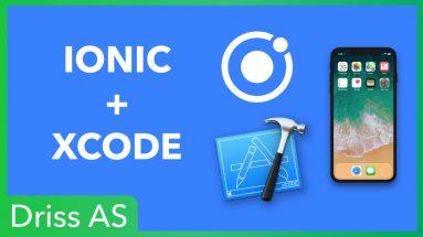 Comment exporter des applications Ionic dans Xcode ?