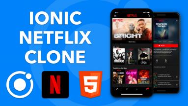 IONIC NETFLIX: Construire un clone de Netflix avec Ionic