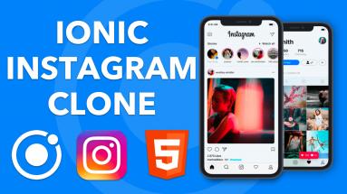 IONIC INSTAGRAM: Créer un clone de l'application Instagram avec Ionic