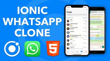 IONIC WHATSAPP: Créer un clone de WhatsApp avec Ionic