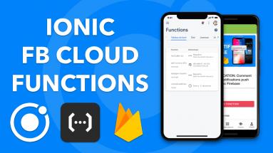 IONIC CLOUD FUNCTION: Utiliser le service Firebase Cloud Functions dans Ionic