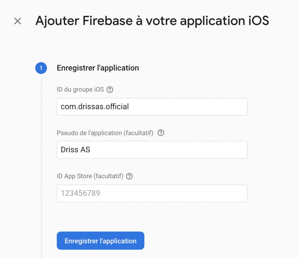 Ionic notification firebase cloud messaging new app ios
