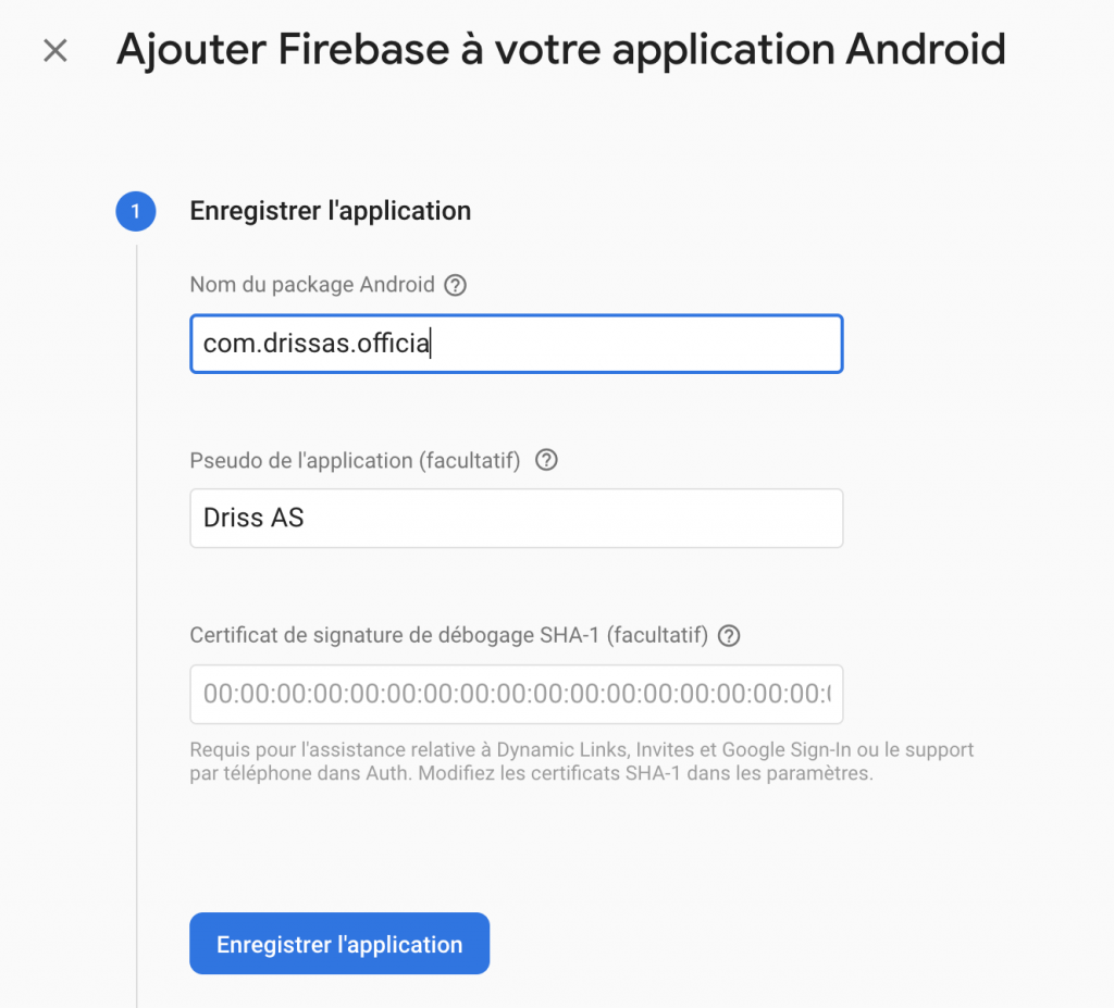 Ionic notification firebase cloud messaging new android